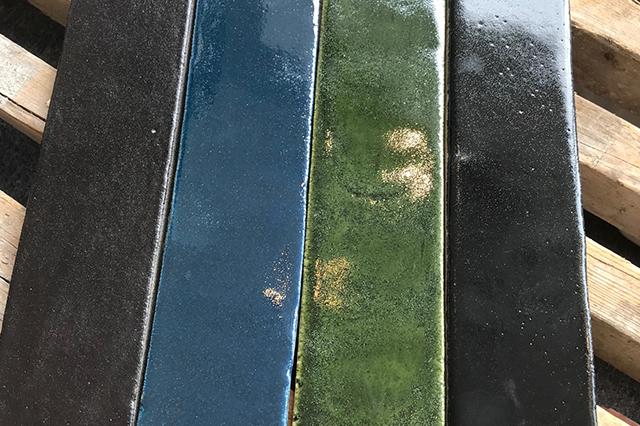 Glaserede gulvtegl